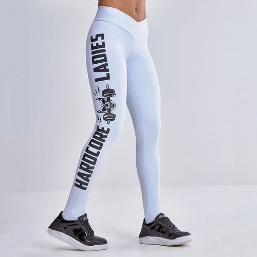 Legging-Emana-Hardcore-Ladies-White