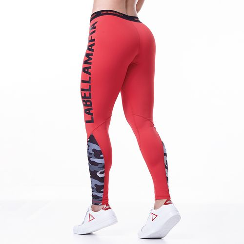 LEGGING-FEMININA-LABELLAMAFIA-ARMY-RED