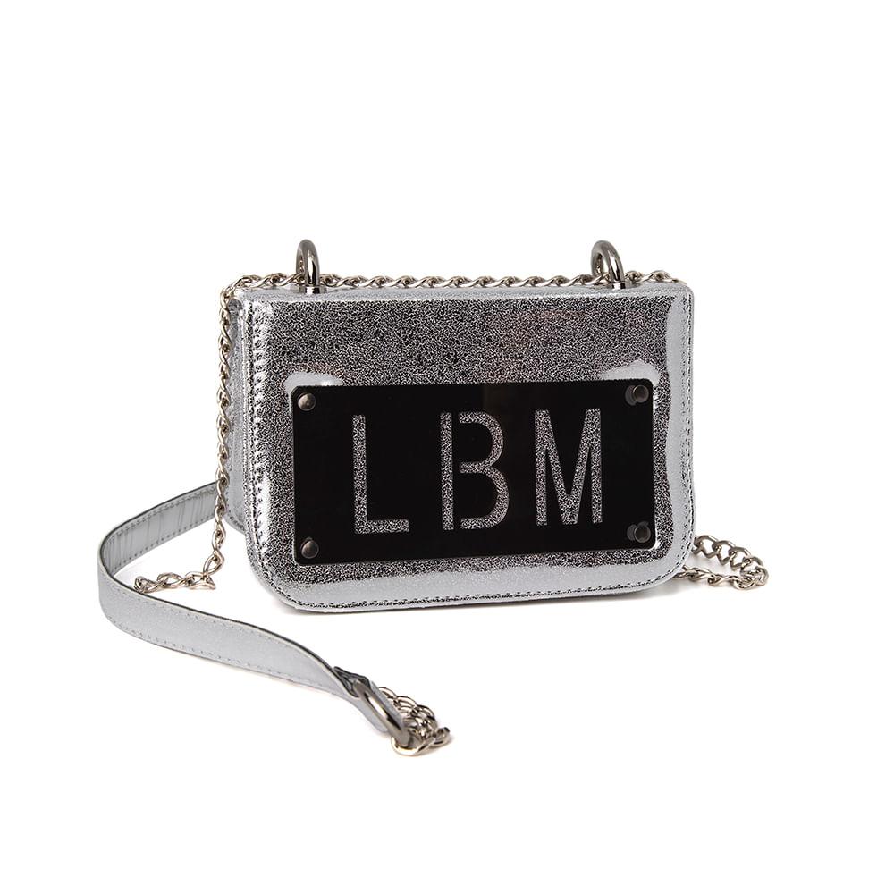 Bolsa LBM Shine Silver