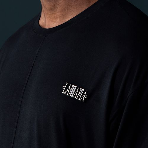 CAMISETA-NOIR-LAMAFIA-BLACK---P