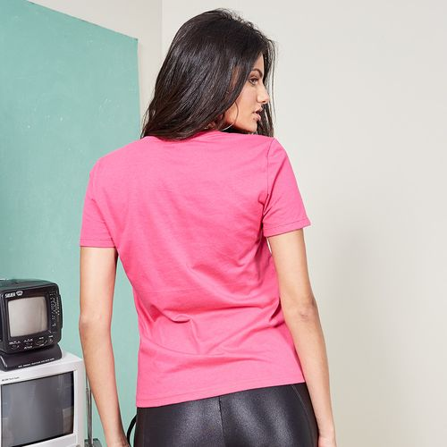 BLUSA-T-SHIRT-I-AM-LABELLAMAFIA-ROSA